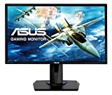 ASUS VG245H 61 cm (24 Zoll) Monitor (Full HD, VGA, HDMI, 1ms Reaktionszeit, Gaming,...