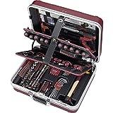 Kraftwerk 3995 234-teilig ABS-Profi-Werkzeugkoffer, rot mit...