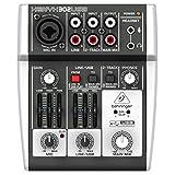 Behringer XENYX 302USB 5-Input Mixer mit XENYX Mic Preamp und...