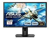 Asus VG245H 61 cm (24 Zoll) Monitor (Full HD, VGA, HDMI, 1ms...