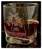 KolbergGlas WhiskeyGlas mit realem Geschoß und Gravur The Last...