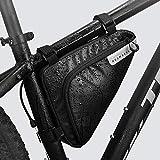 Roswheel Radtasche Triangle Bag, Fahrradtasche Rahmentasche 1.5...
