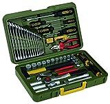 PROXXON Industrial 23650 Werkzeugkoffer 43tlg. 1,3 cm (0,5 Zoll)...
