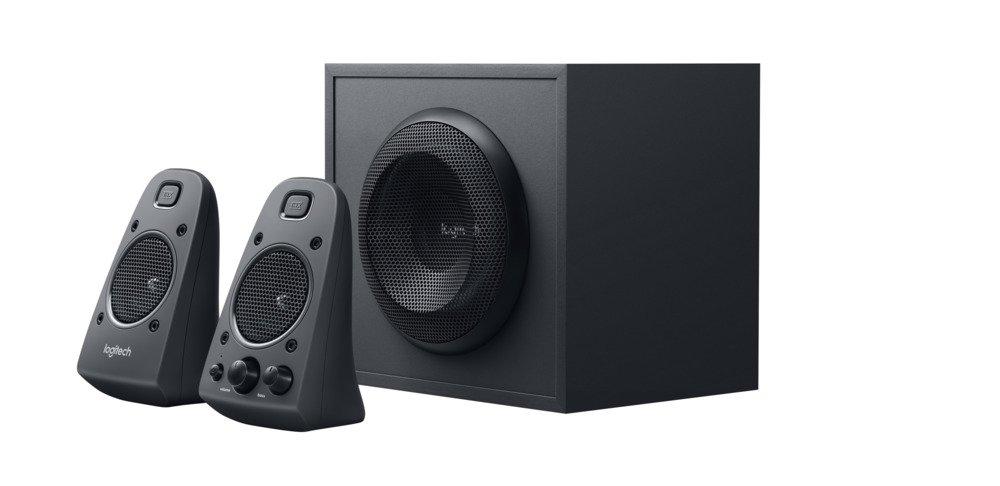 logitech z625 soundbar zum zocken 2.1 stereo lautsprecher