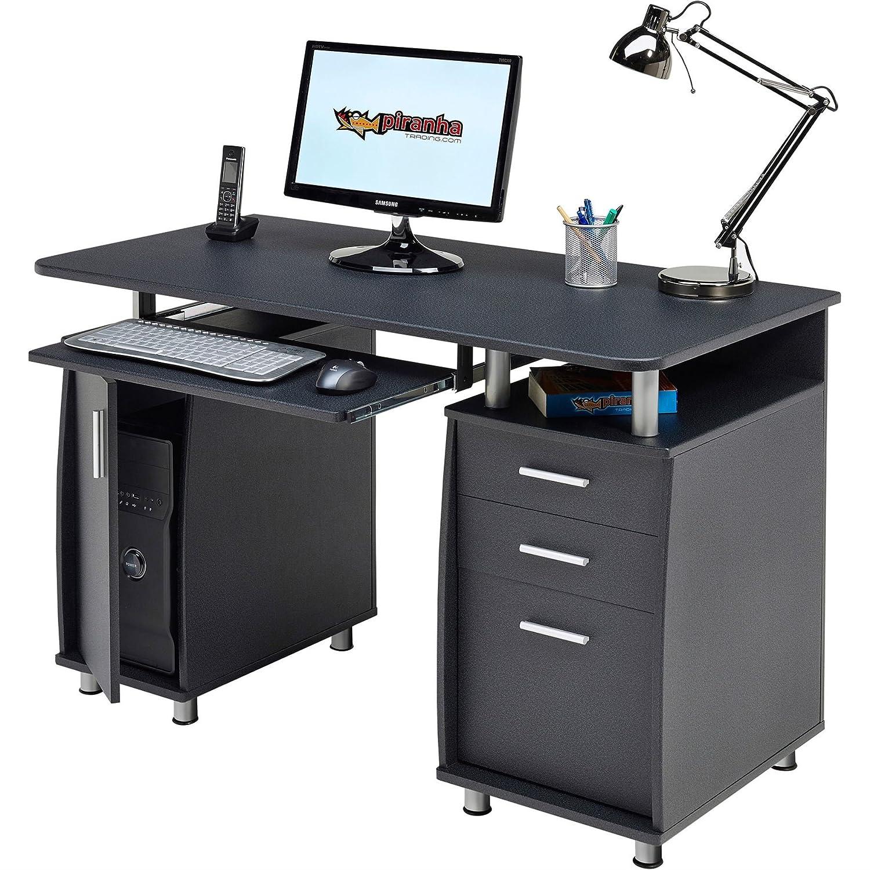 kompakter schreibtisch zum arbeiten home office
