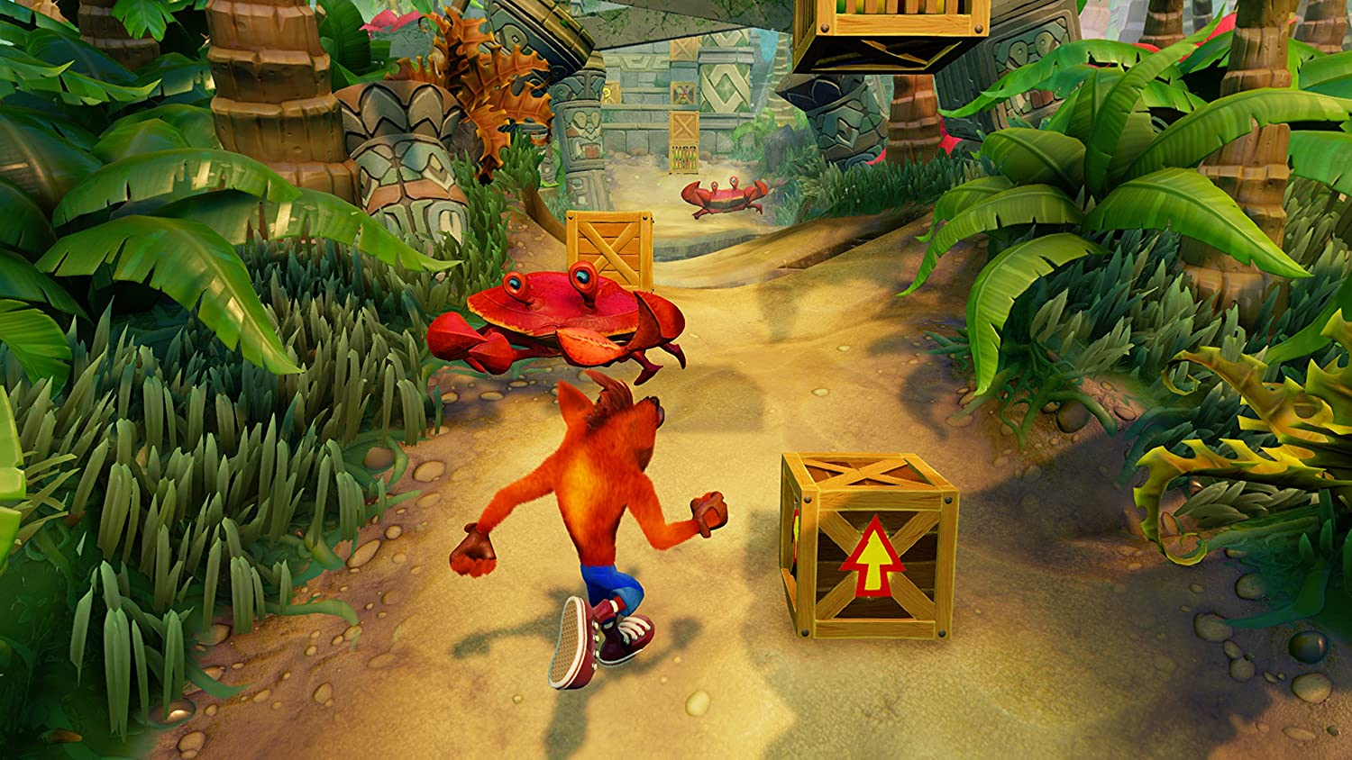 Crash Bandicoot N.Sane Trilogy ps4 children