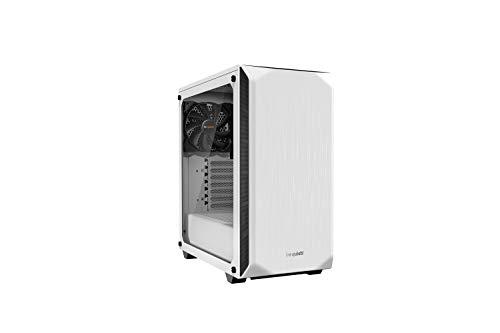 be quiet! Pure Base 500 PC-Gehäuse aus Hartglas, Weiß, BGW35,...