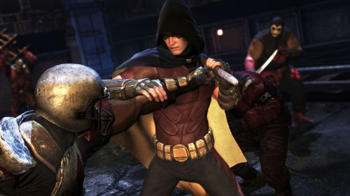 ps3 3d spiel batman arkham city