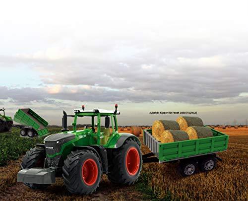 ferngesteuerter traktoranhänger