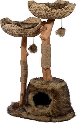 kratzbaum natur rohstoffe holz sisal