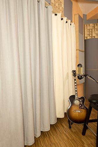 akustikvorhang studio schall isolieren