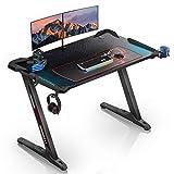 EUREKA ERGONOMIC Gaming Tisch Z1-S Gaming Schreibtisch Gaming...