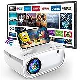 GROVIEW WiFi Beamer, 7000 Lumen Mini Video Beamer mit Bildschirm,...*