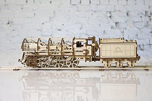 mechanisches holzspielzeug ugears lokomotive