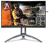 AOC AGON AG273QCX - 27 Zoll QHD Curved Gaming Monitor, 144 Hz,...*