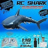 2020 Verbessertes ferngesteuertes RC-Haifischboot,...
