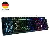 Horsky Gaming Tastatur mechanisches Gefühl Chroma RGB...