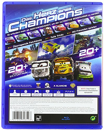cars 3 game playstation 4