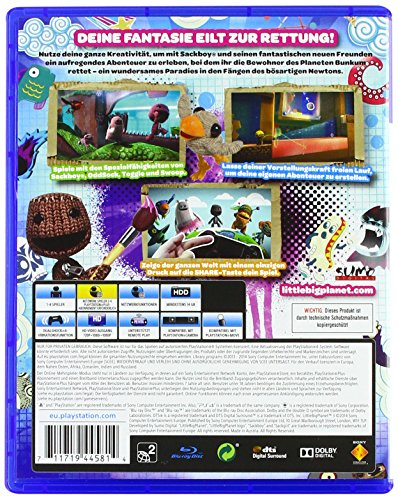 Little Big Planet spiele für kinder konsole
