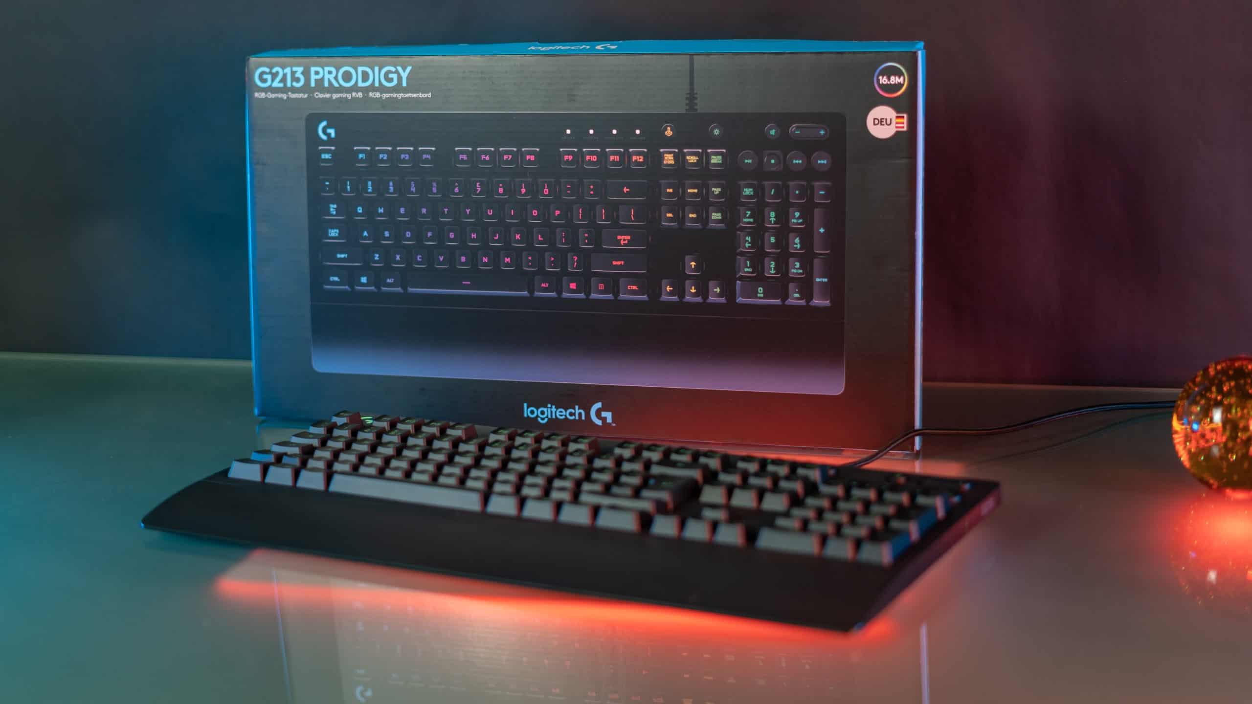 logitech G213 Prodigy Gaming Tastatur test