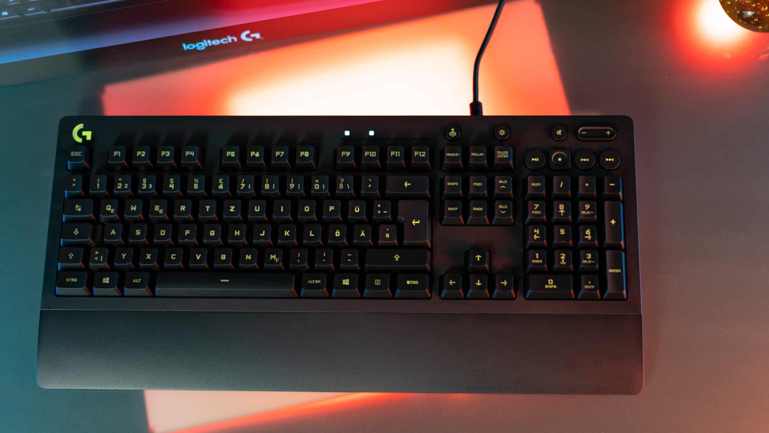logitech budget gaming tastatur