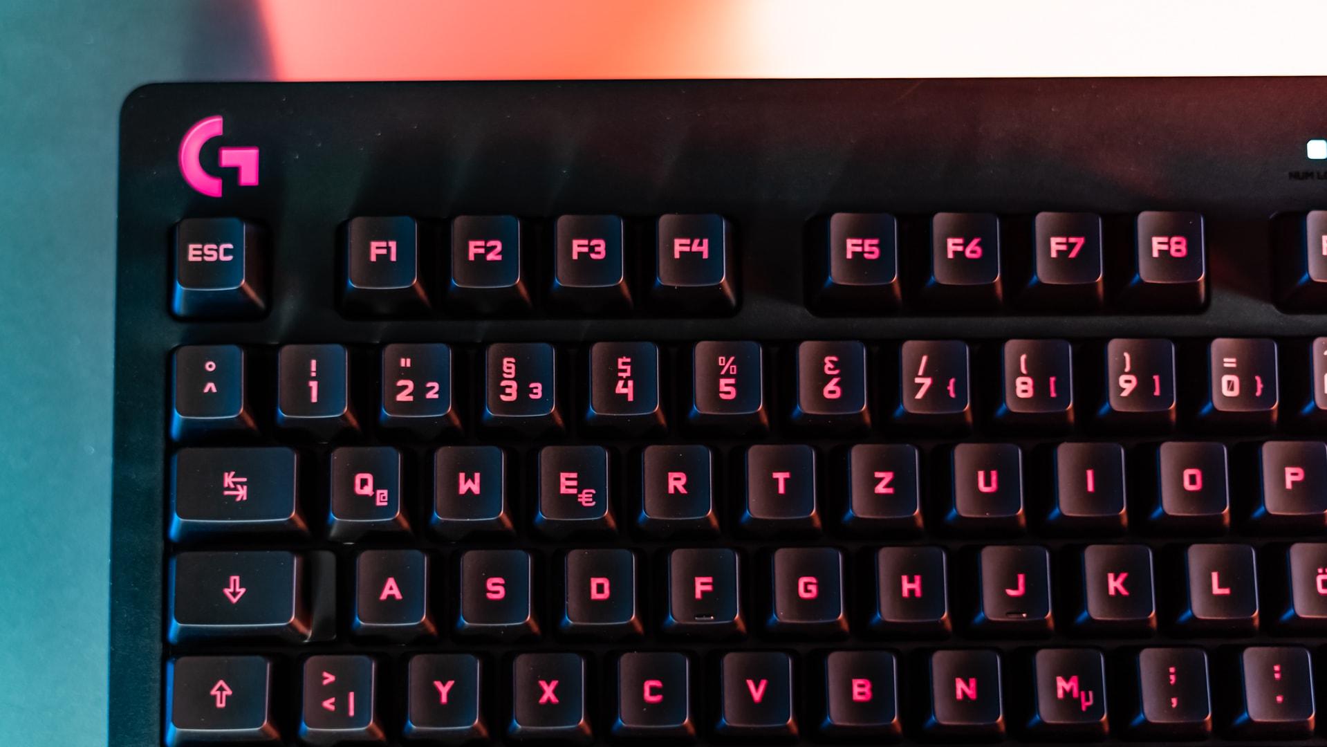 Richtige Maus Und Tastatur Für Gaming PC Logitech Tastatur G213
