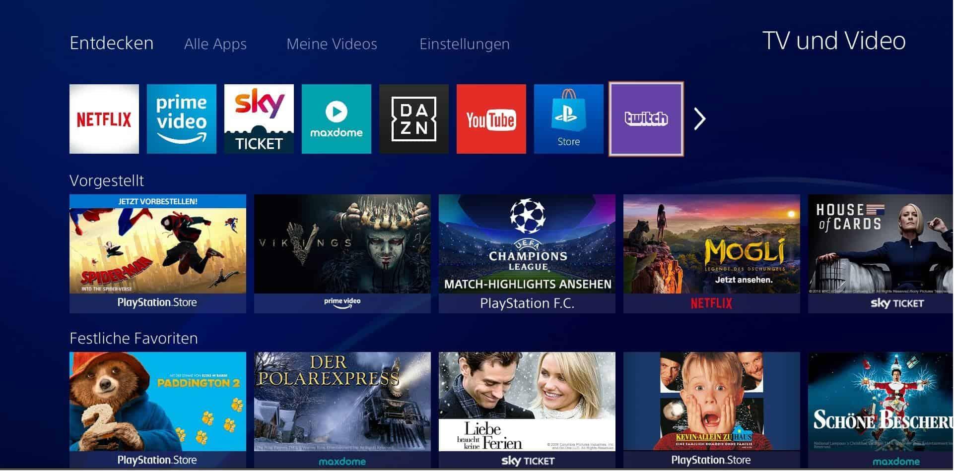 Twitch-app-über-playstation-4