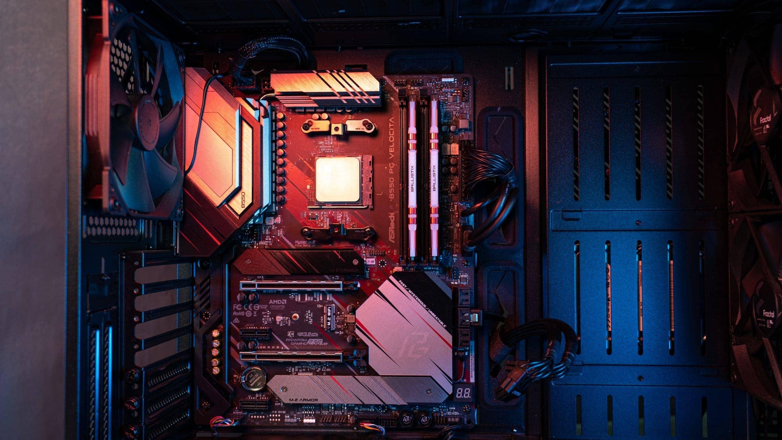 gaming pc zusammenbauen mainboard